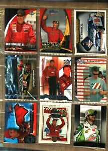9-DIFFERENT-YEARS-amp-BRANDS-NICE-DALE-EARNHARDT-JR-RACE-CARDS-45