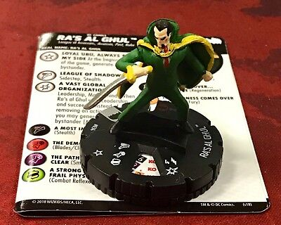 Ra/'s Al Ghul 034 DC Batman The Animated Series HeroClix Rare