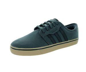Adidas hombre 's Seeley skate zapatos ; dsogr goma Negro; tamaño 8, 9, 10