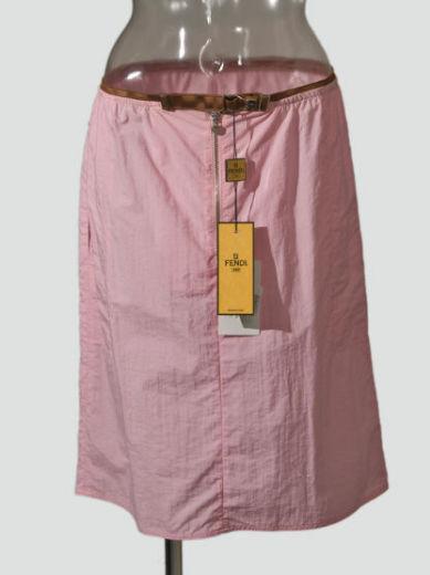 New Fendi Sports Pink Skirt  Size US 8