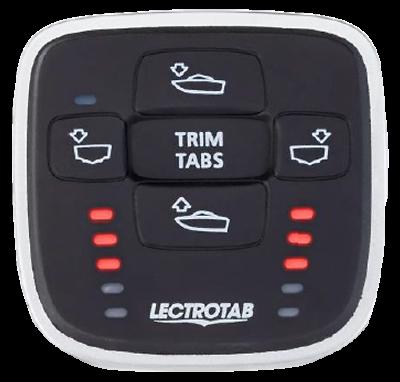 LECTROTAB Standard Trim Tab A-BK ACTUATOR 12-VOLT