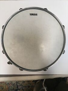 Used-Yamaha-13-034-X-4-034-Chrome-Snare-Drum-8-lug-Buyer-Pays-Calculated-Shipping