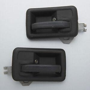 suzuki samurai sj410 sj413 pair black inside door handle inner interior ebay