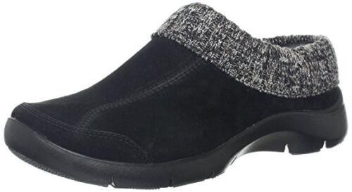Dansko Eartha Woman/'s Black Clogs 8003 Size 37 EUR NEW