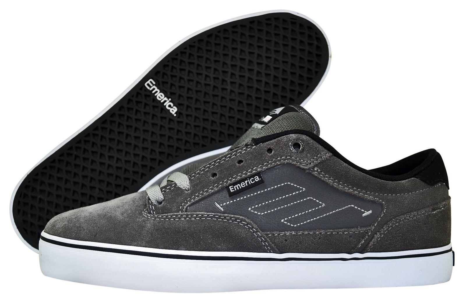 Emerica 2 the Jinx 2 Emerica skater zapatos/cortos Gris/Negro/Blanco tamaños de selección bf2d8f