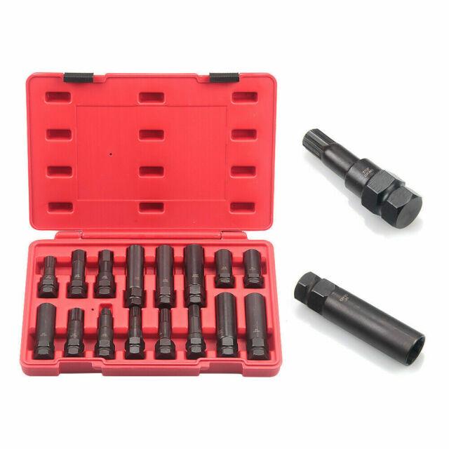 OEMTOOLS 24447 Locking Lug Master Key Set 16 Piece