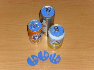 0-67-St-6-Getraenkedosen-Deckel-Verschluesse-Angeln-Garten-Dose-Bier-Cola