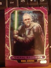 Star Wars 2012 Galactic Files 1 #190 General Rahm Kota Rebel General NrMint-MINT