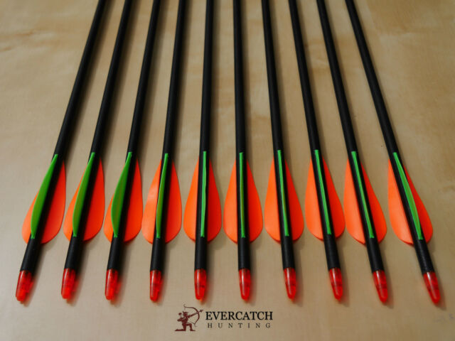 "20x 32"" Fiberglass Arrows 15-65lb Archery Compound & Recurve Bow Target &Hunting"