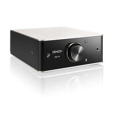 Denon PMA-60 silber/schwarz Digitaler Stereo-Vollverstärker