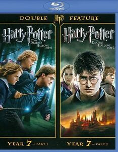 harry potter and the deathly hallows part 1 3d part 2 3d blu ray
