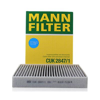 Single Cabin Filter CUK28001 by MANN-FILTER Genuine OE