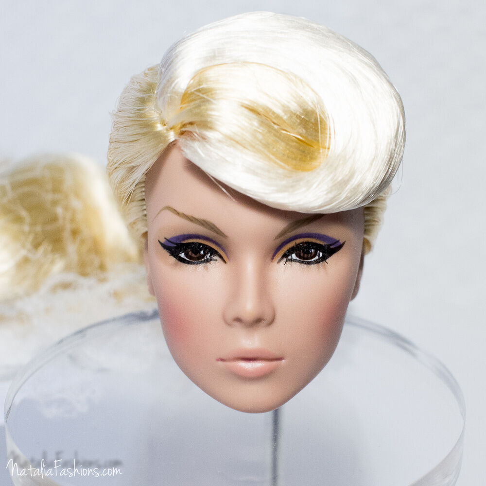 NEW HEAD ONLY FASHION ROYALTY NEVER ORDINARY EDEN NU Face FR Weiß SKINTONE