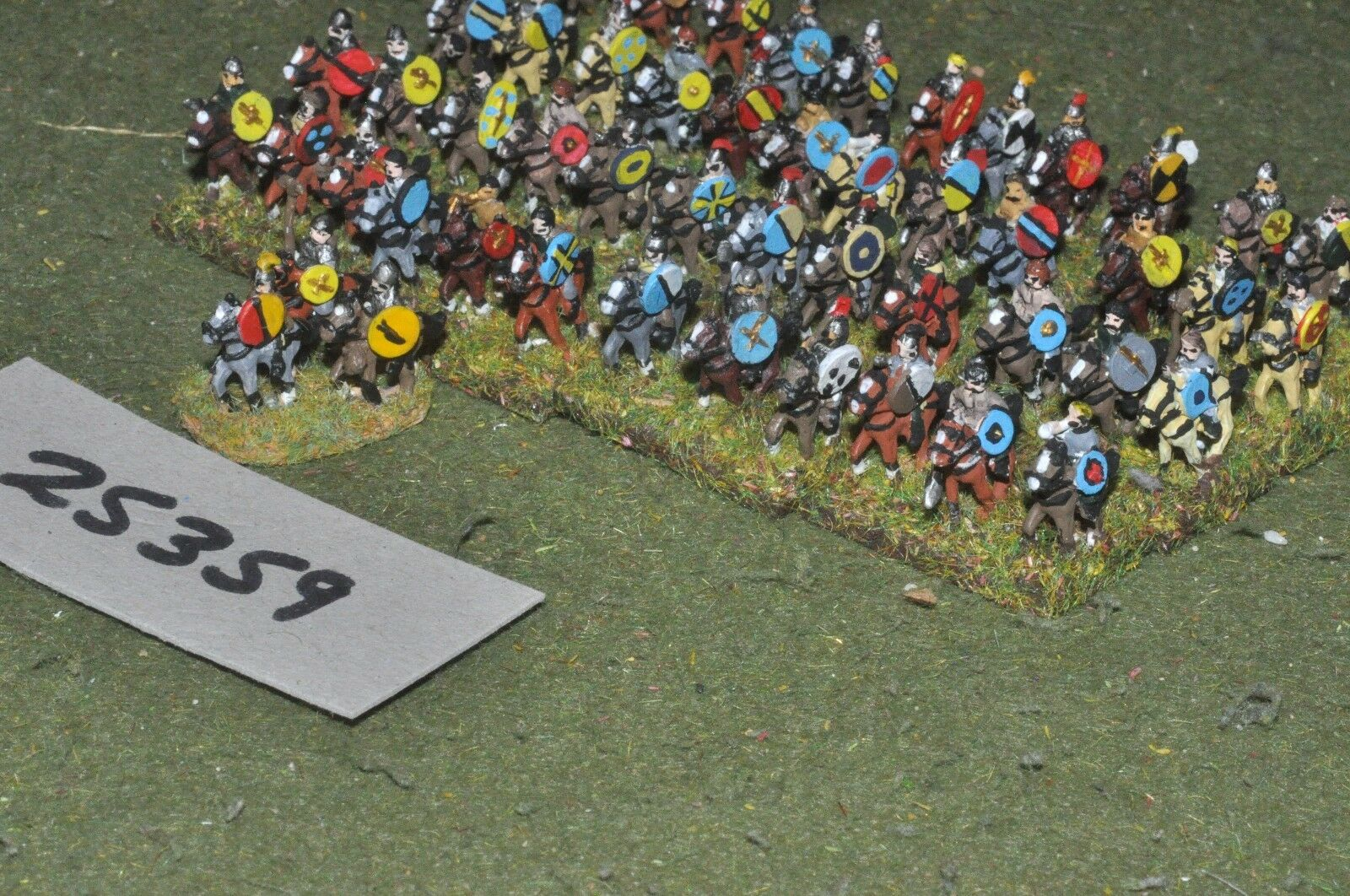 10mm roman era   goth - army 50 figures - cav (25359)