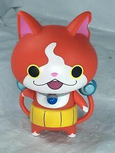 Rare-Hasbro-Yo-Kai-Watch-Figure-Jibanyan-Cat-two-tails-2015-Free-Shipping-EUC