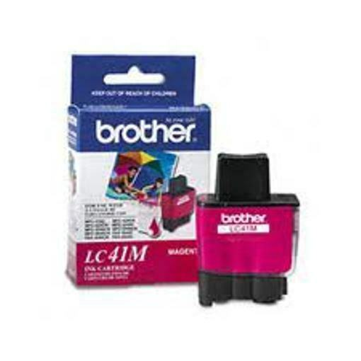 NEW Brother LC41M Magenta LC41 Ink Cartridge GENUINE