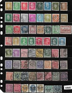 #6865    Early Germany Postage Stamps / 100+ all different used before 1930