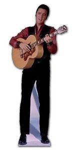 ELVIS-PRESLEY-SINGING-LIFESIZE-CARDBOARD-CUTOUT-STANDEE-holding-acoustic-guitar