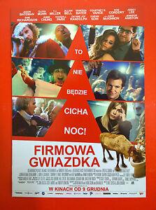 Jennifer Aniston T.J. Miller - Office Christmas Party - Polish promo FLYER - Gdynia, Polska - Jennifer Aniston T.J. Miller - Office Christmas Party - Polish promo FLYER - Gdynia, Polska