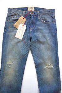 The Jeans Current elliott Boyfriend Current 24 Denim avec Decoy taille réparation Elliott xpSHw7ZS4