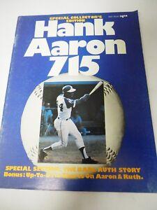Hank Aaron 715 Special Collector's Edition Program 1974