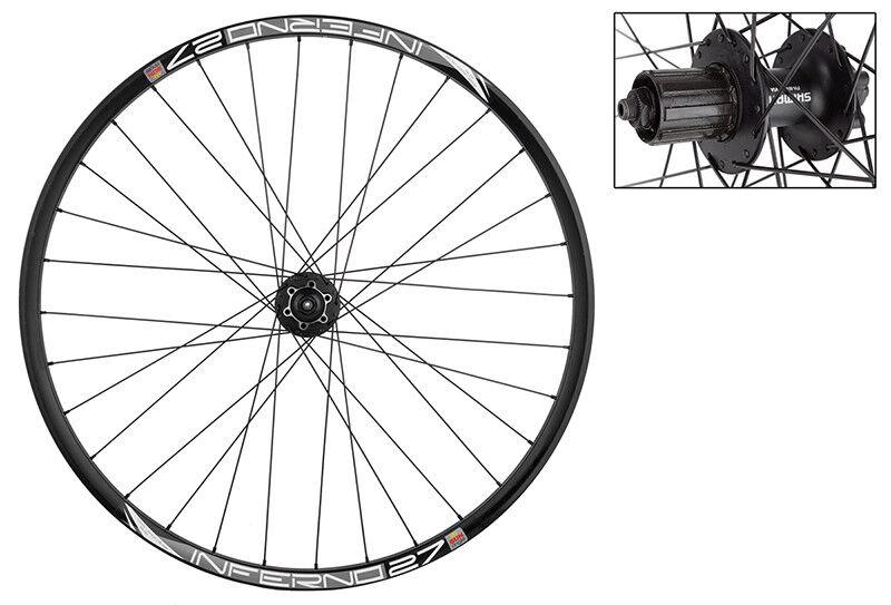 WM Wheel Trasero 29 622x23 Sol Inferno-27 Bk 32 M475l 8-10scas Bk 135mm Dti2.0bk