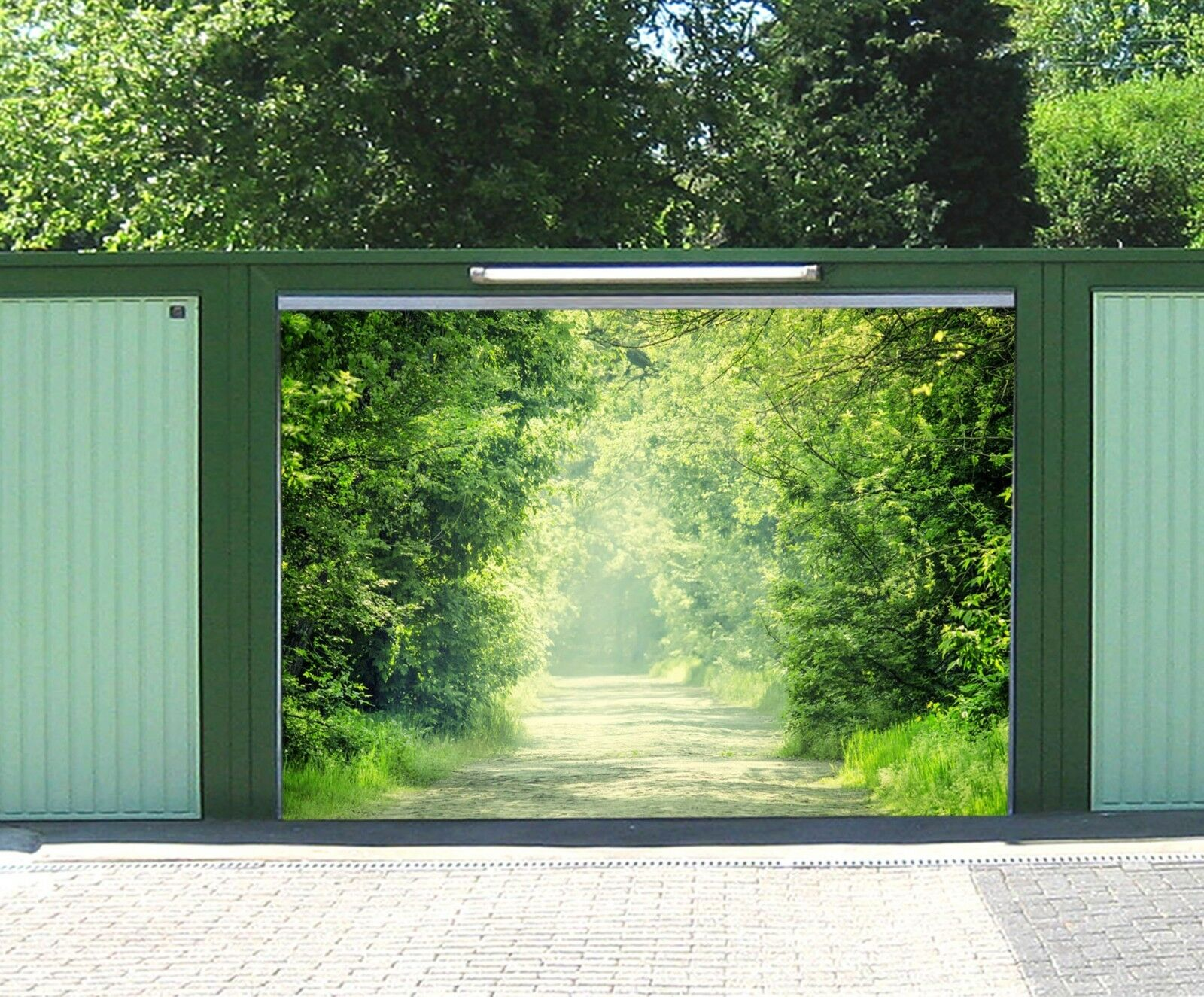 3D Sunny Woods 98 Garage Door Murals Wall Print Decal Wall AJ WALLPAPER UK Carly