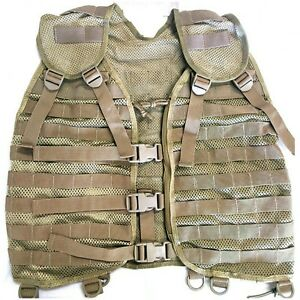TAS PALS MOLLE Harness Khaki Military 900D Nylon Webbing And Buckles