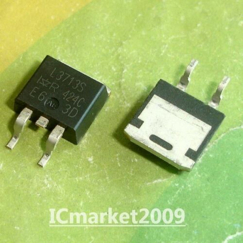 10 PCS IRL3713S TO-263 IRL3713 L3713S SMD SMPS MOSFET
