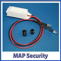 Twin Flashing LED's for your Dummy Alarm Siren Box - MORE VISABLE DETERRENT!