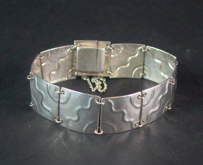 Schönes Art Deco Armband - 900er Silber Sparen Sie 50-70%