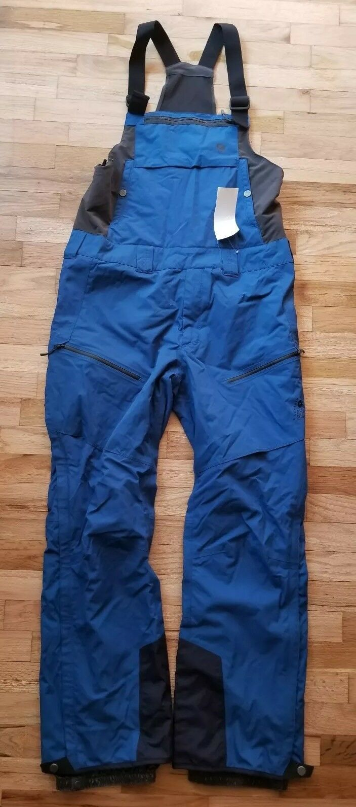 f2cfce4eca9ae6 Mountain Hardwear blueE FIREFALL Waterproof RECCO Bib Medium M PANTS NWT  nsmxum16934-Coats   Jackets