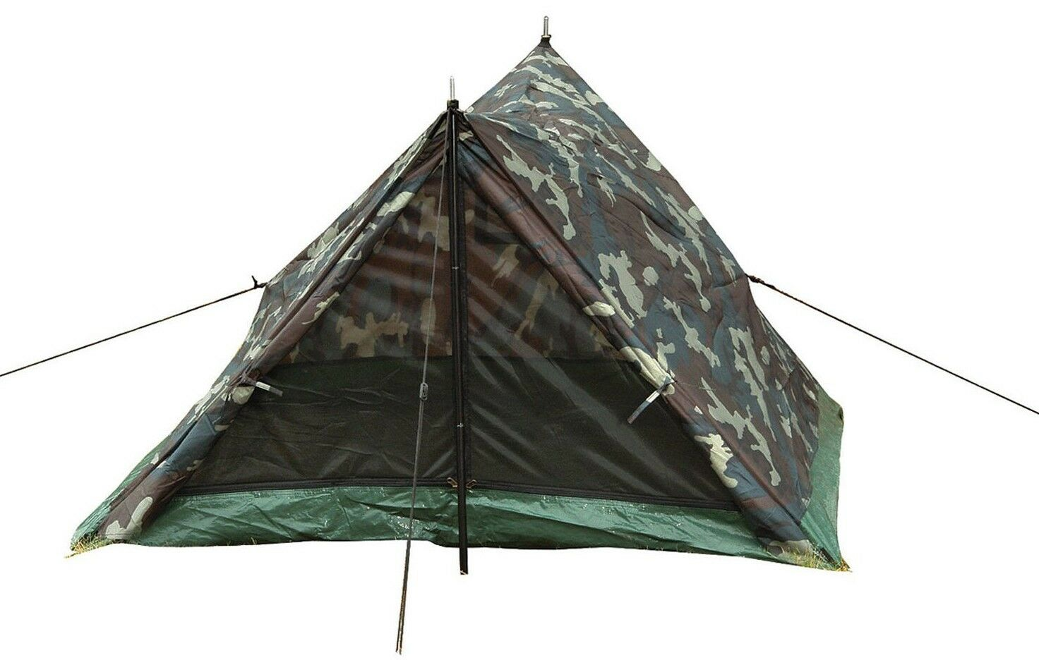 Camo trail tent woodle camouflage 2 person rossohco 3808
