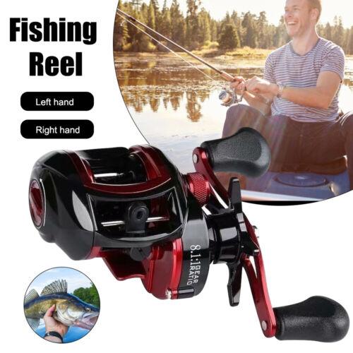 Spinning Fishing Reels Baitcasting Reel Saltwater Left Right Hand Bait Feeder UK