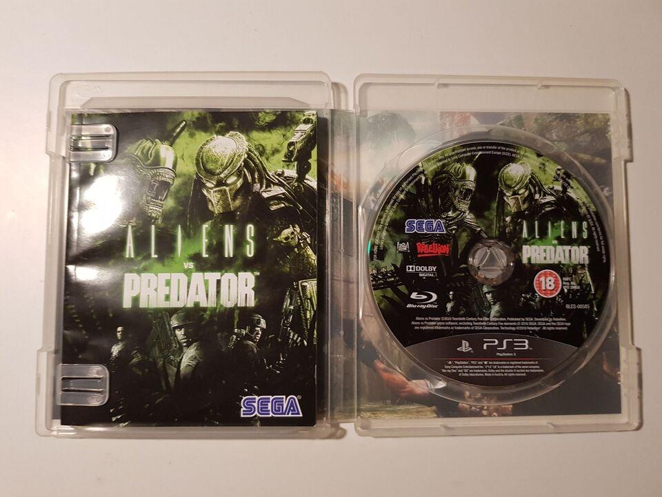 Aliens vs Predator, PS3