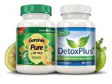Garcinia Cambogia Pure 90 Kapseln + Detox Plus 90 Kapseln - Top Angebot