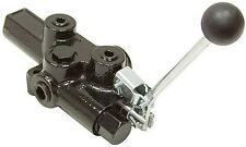 New Prince Manufacturing Hydraulic Valve Rd 2575 M4 Eda1 Detented Motor Spool