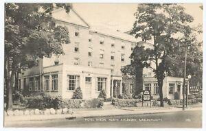 Image Is Loading North Attleboro Ma Hotel Hixon Machusetts Vintage Postcard