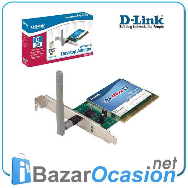 Lot 20 X Carte Réseau PCI Wifi sans Fil 54Mb D-link DWL-G510 Lot