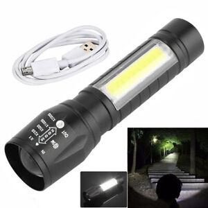 40 LED Taschenlampe Arbeitslampe Magnet Licht Leuchte Handlampe Wiederaufladbar