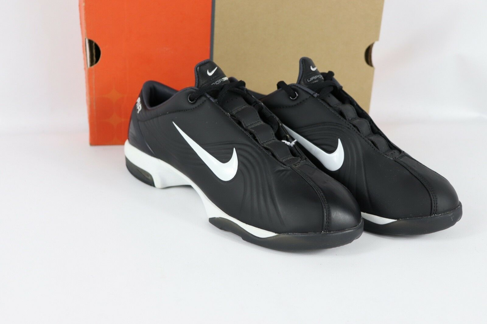 Vtg New New New Nike Mens 8.5 Air Mercurial Vapor 365 Indoor Soccer shoes Trainers Black aaa0de
