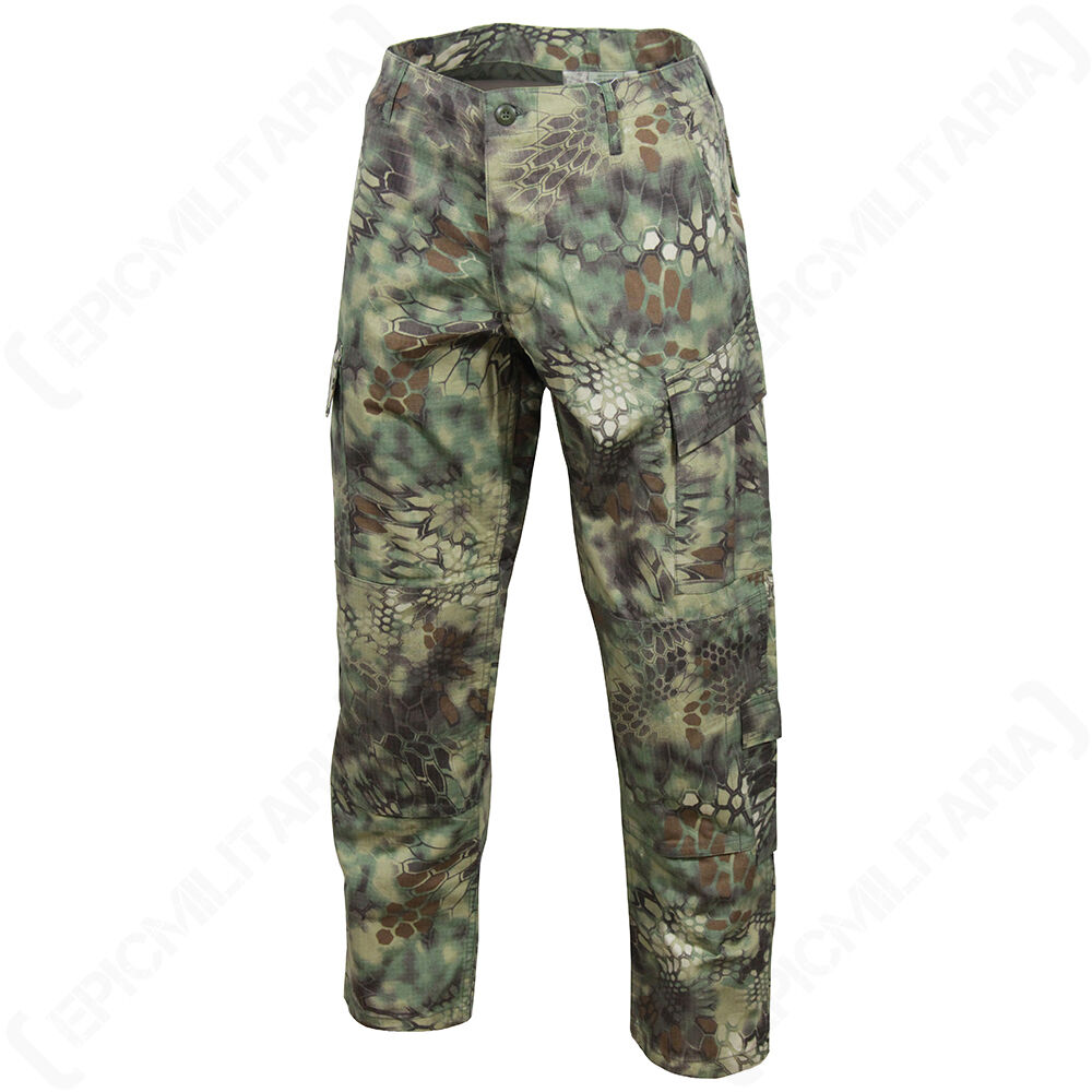 MANDRA Woodland Camo US ACU Trousers- All Sizes -US Army Military Cargo Pants