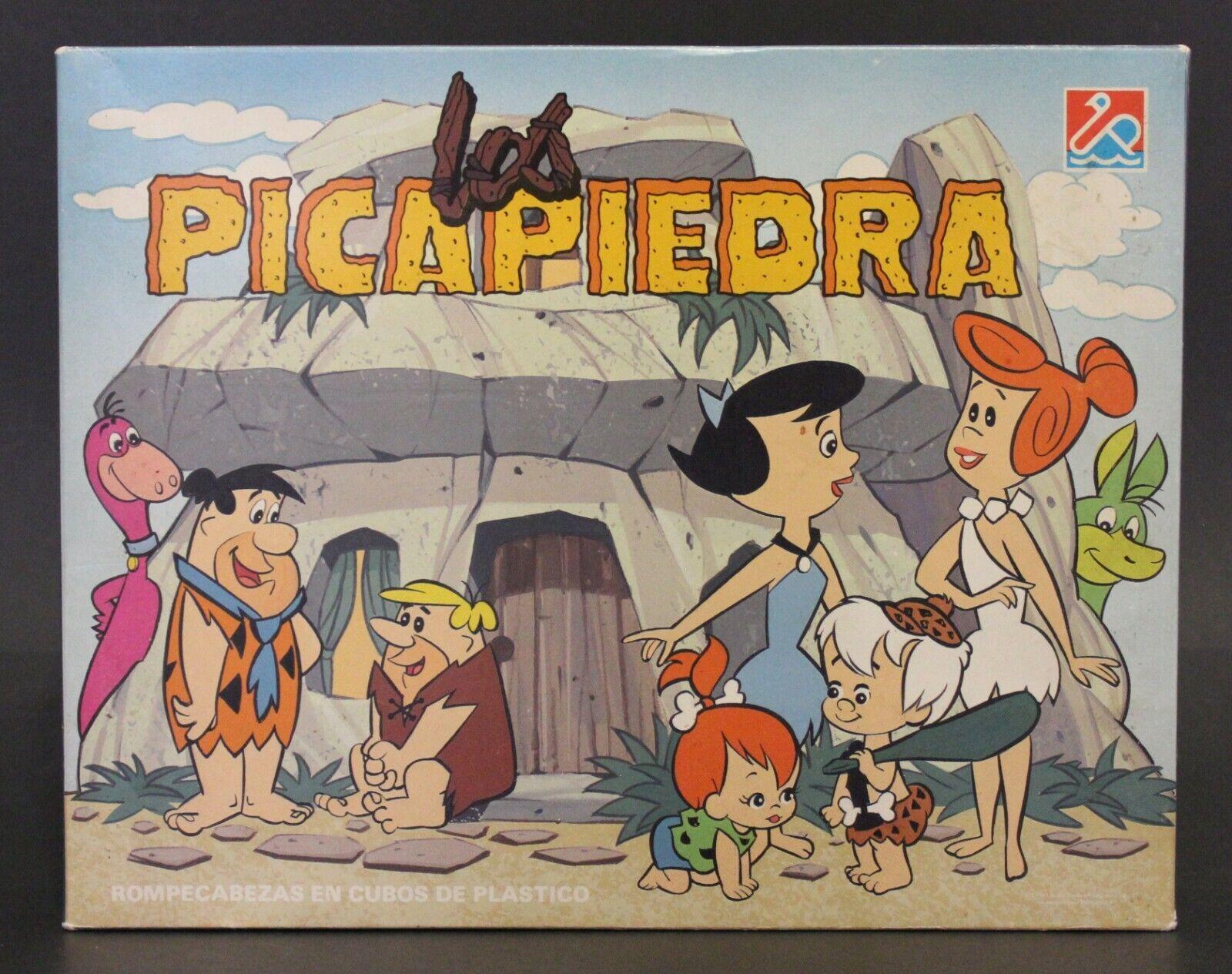 1980's Dalmau Hanna-Barbera THE FLINTSTONES CUBES PUZZLE Very Good cond & VHTF