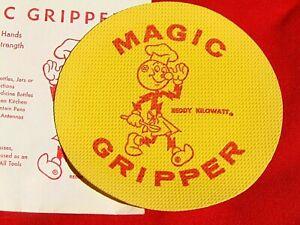 2 vintage REDDY KILOWATT MAGIC GRIPPER advertising memorabilia NOS $14.95 shiped