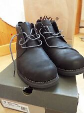 NEW Timberland Men's Leather Boots Shoes Bartram jet black UK 12.5 Eur 47.5 US13