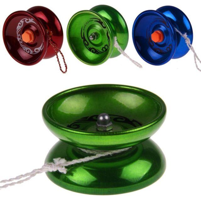 Professional YoYo Aluminum Metal Clutch String Trick Yo-Yo Ball Bearing YoYo