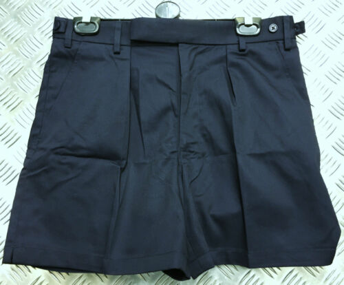 Genuine British MOD PTI Tri Service Shorts Mans White or Navy All Sizes NEW