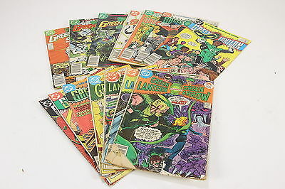 Large Lot of 14 DC Comic Books The Green Lantern 1970's-1980's