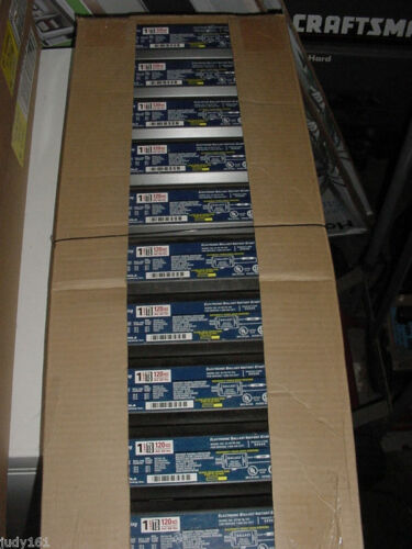 GE T8 Electronic Ballast 120 Volt Lot of 10 1 Lamp