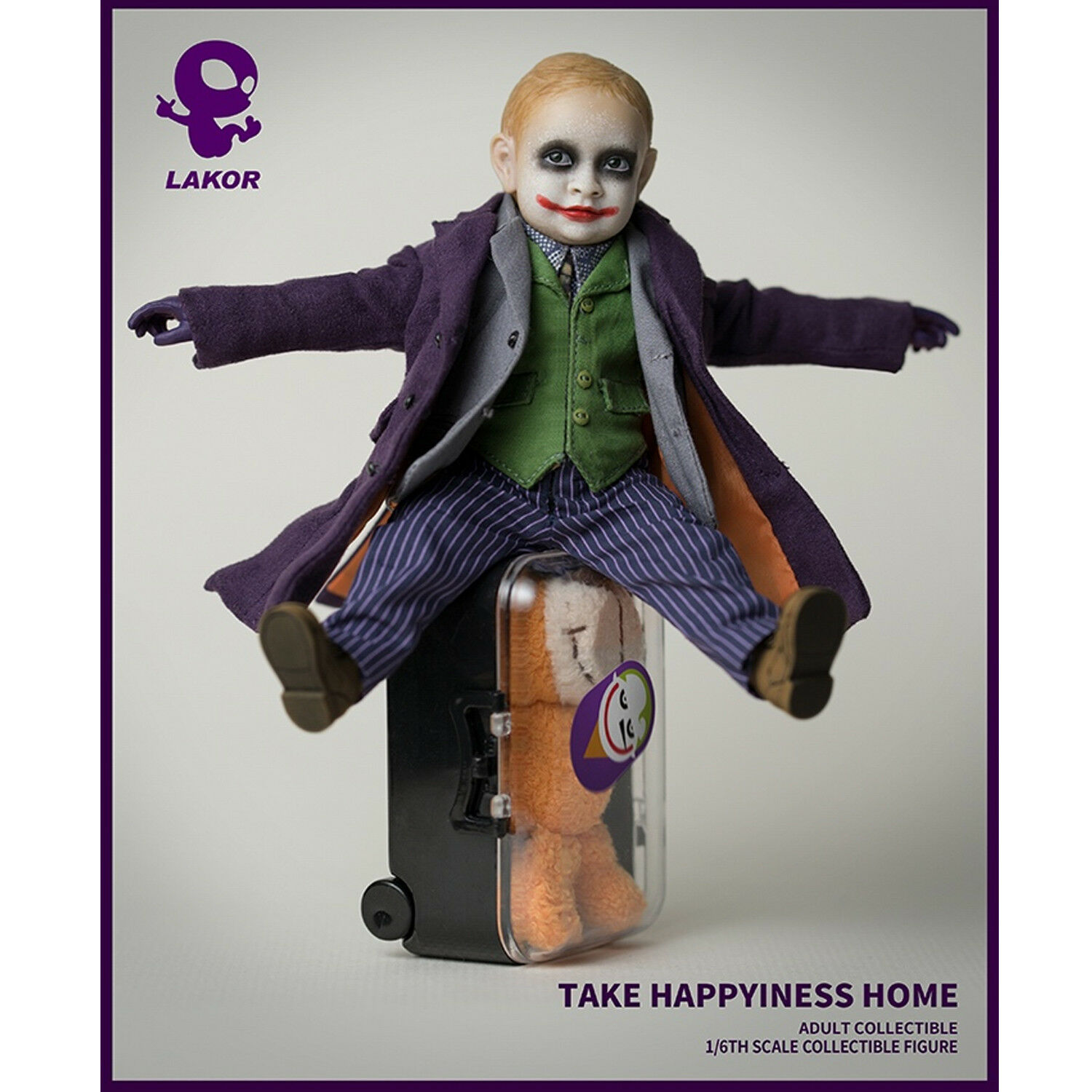 Lakor Baby 1 6th JOKER Baby 2.0 Take Happiness Home Figure Collectible Model New